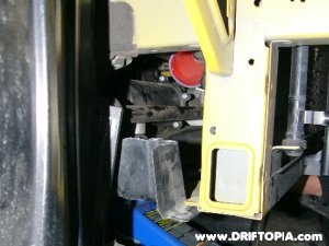 Jpg image showing the cut skid plate