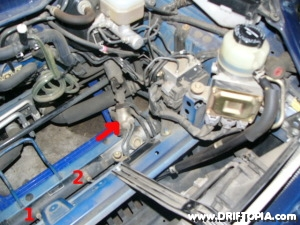 Removing the power steering from the mr2 spyder
