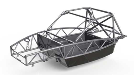 The Exocet chassis comes in three flavors, base, sport and race.  I am basing my build off of the race chassis (pictured above) for maximum stiffness.