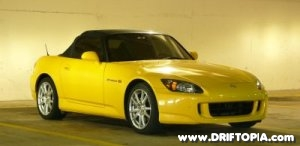 Image of a stock 2005 Honda S2000.